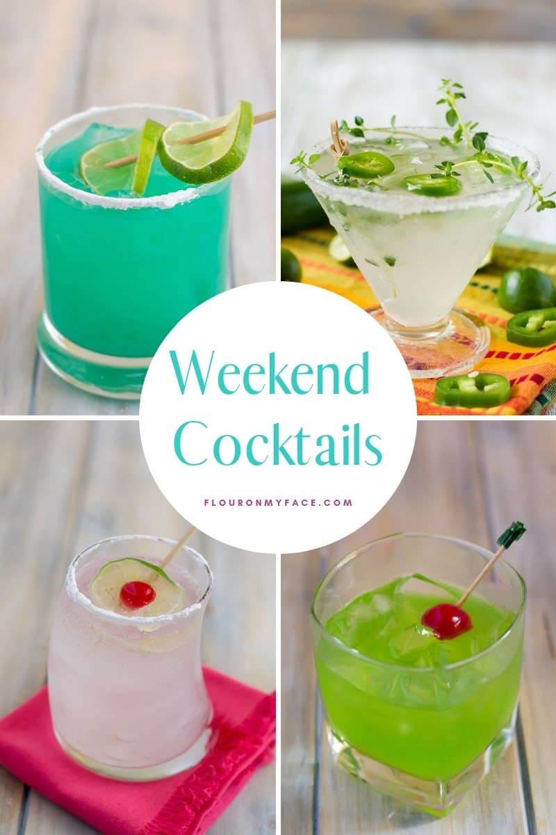 Cocktail Recipe page collage image
