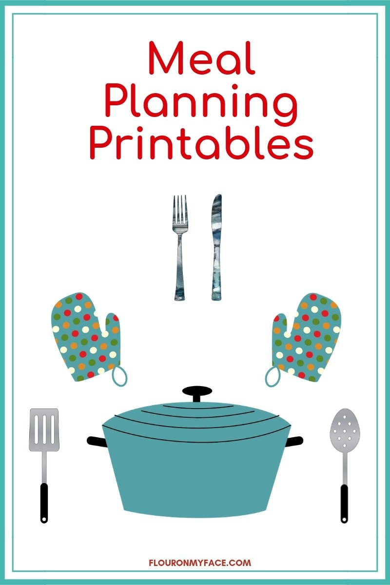 Meal Planning Printables Page image