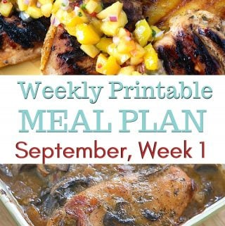 preview image for September Weekly Meal Plan 1