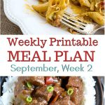 preview image for September Weekly Meal Plan 2