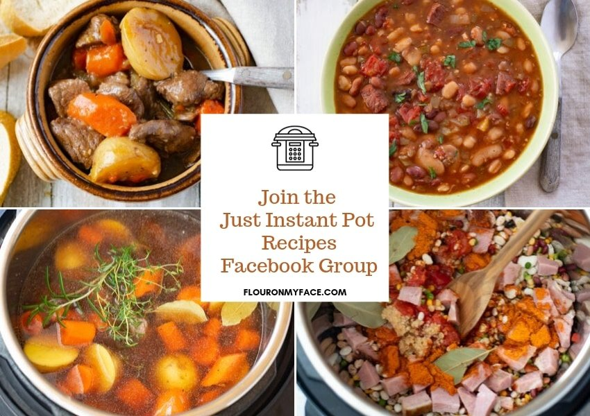 Just Instant Pot Recipes Facebook Group Invite
