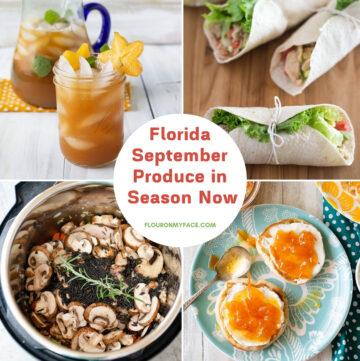 Recipes using Florida September Produce
