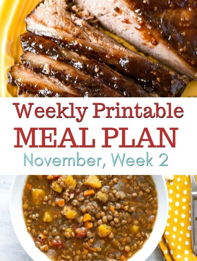 November Meal Plan Week 2 preview image