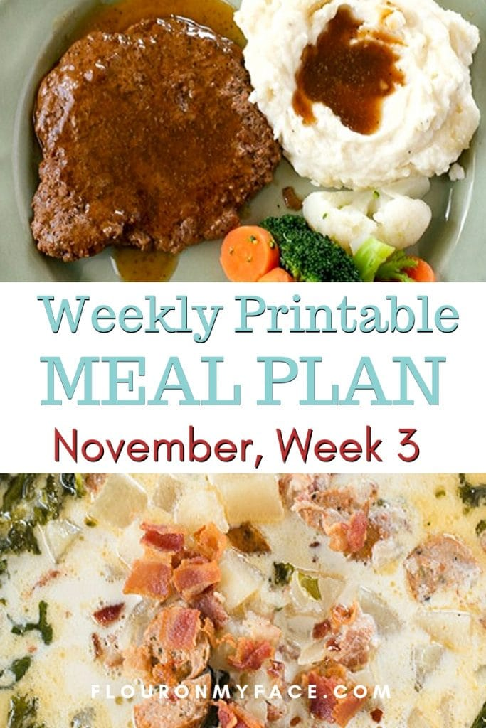 November Meal Plan Week 3 preview image