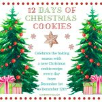 12 Days of Christmas Cookies celebration invitation