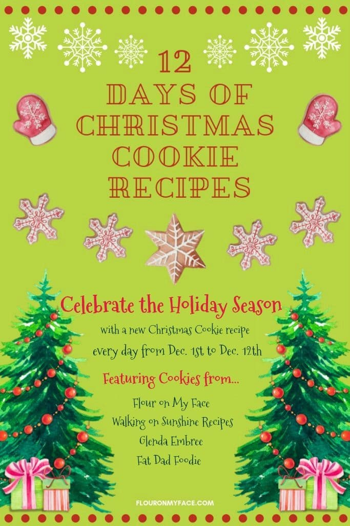 12 Days of Cookie Recipes Event featured image