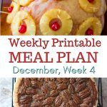 December Meal Plan Week 4 preview image