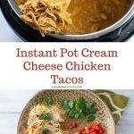 Instant Pot Creamy Chicken Tacos recipe