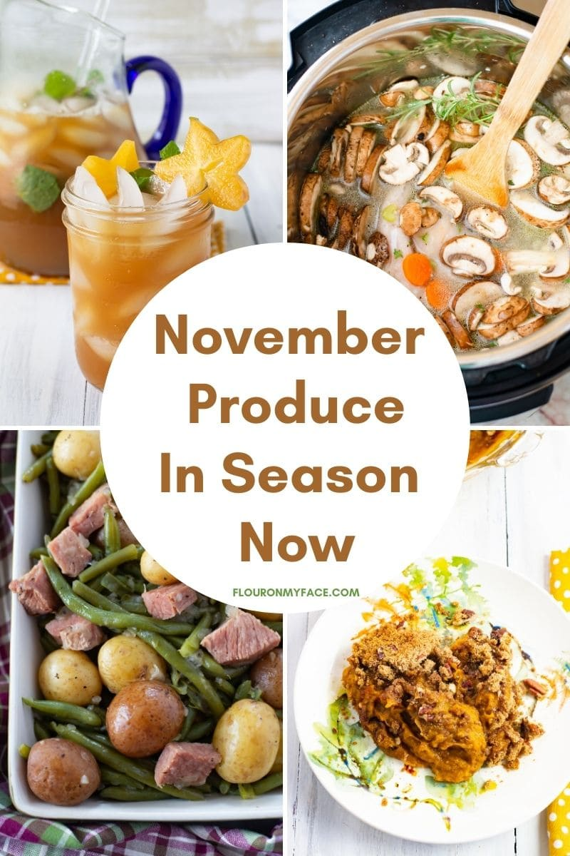 Featured image for the November Produce that is in season now.