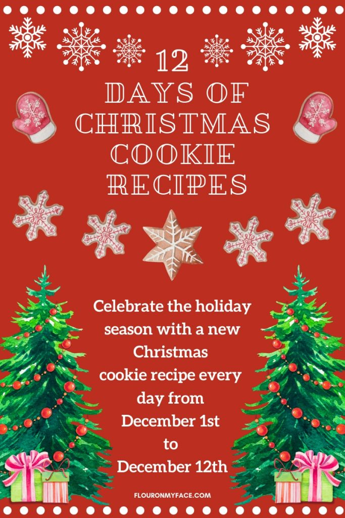12 Days of Christmas Cookie Recipe event