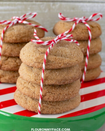 Big Soft Ginger Cookie Recipe