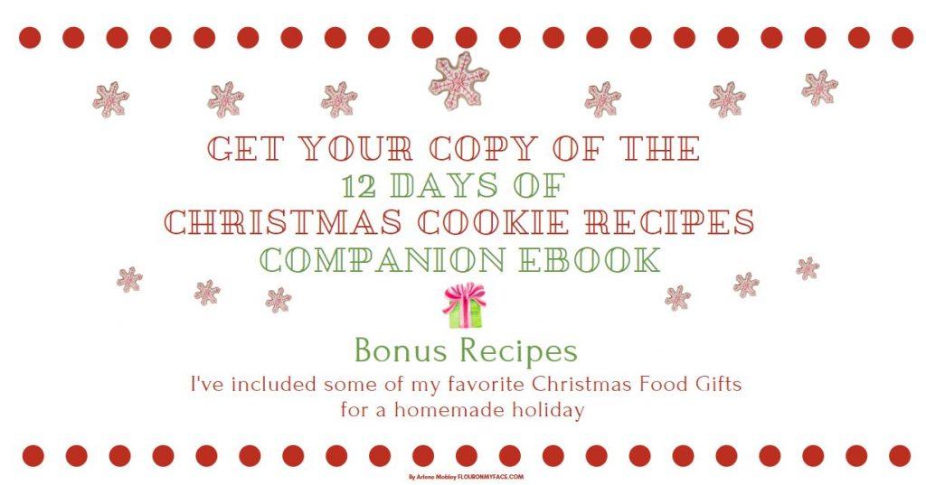12 Days of Christmas Cookie Recipes Companion eBook