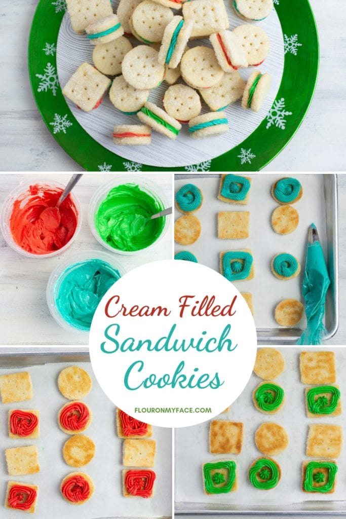 Cream Filled Christmas Cookies