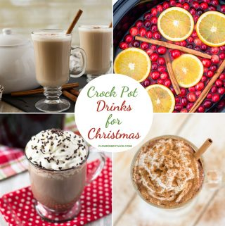 featured image for the Crock Pot Drinks for Christmas recipe post