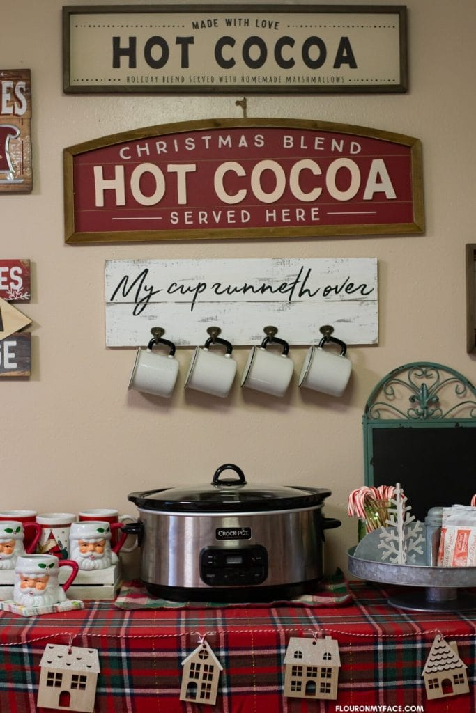 Photo of my DIY Hot Chocolate Bar