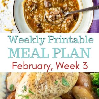 February Meal Plan Week 3 preview image