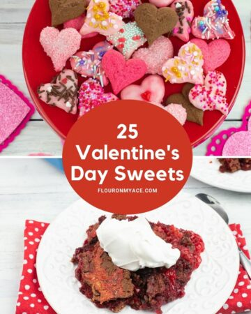 Valentine's Day recipes preview image.