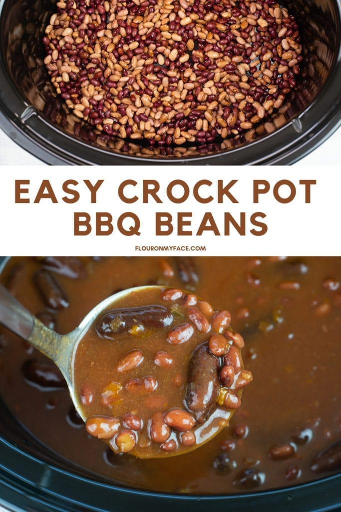 Finished Crock Pot Cowboy Beans recipe