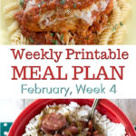 February Meal Plan Week 4 preview image