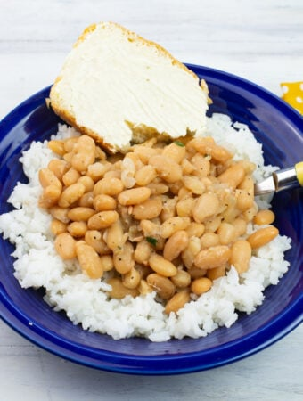 Great Northern Beans recipe made in the Instant Pot
