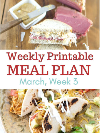 March Meal Plan Week 3 preview image