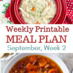 April Meal Plan Week 2 Preview