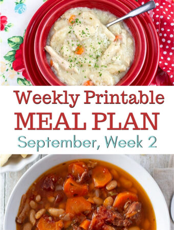 April Meal Plan Week 2 Preview