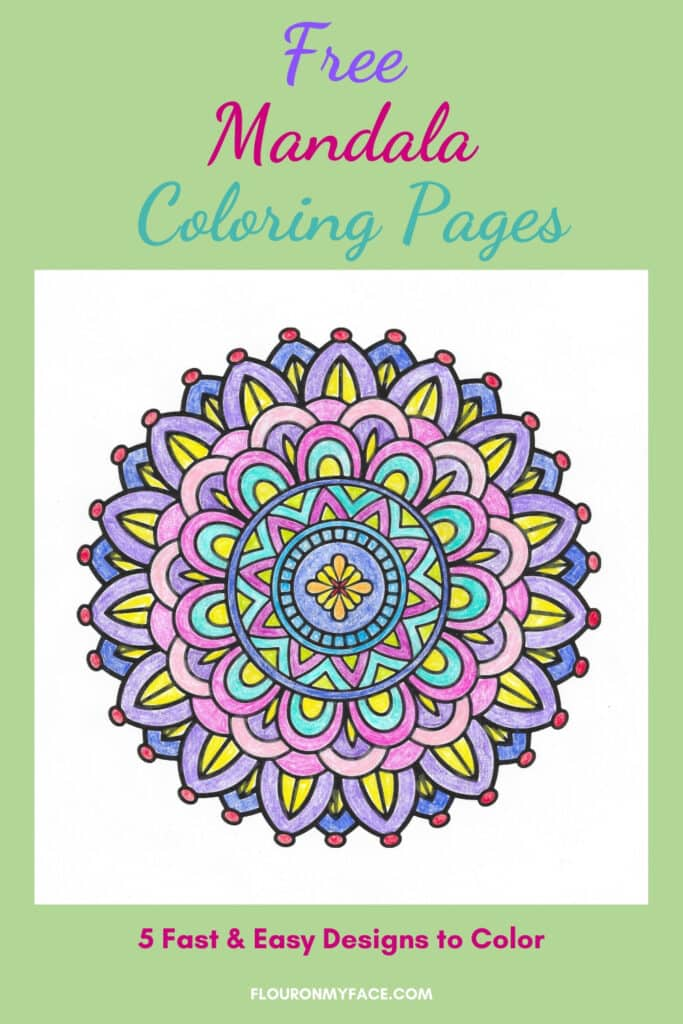 Mandala Coloring Pages preview image