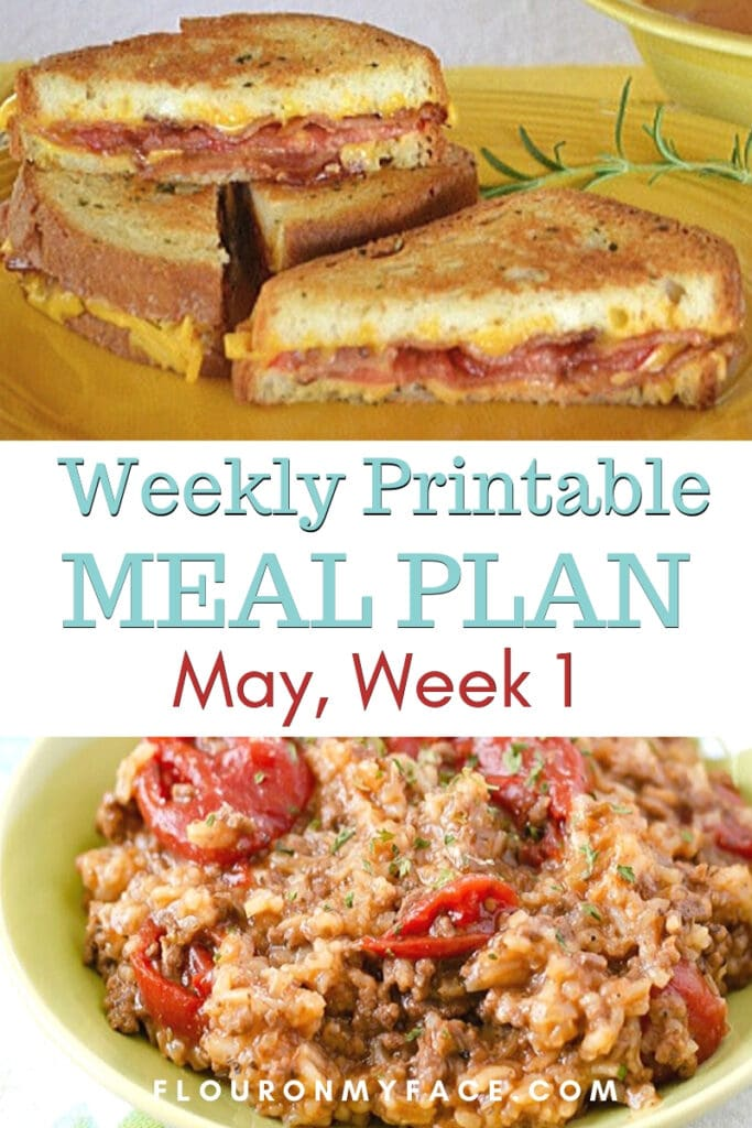 May Weekly Meal Plan Week 1 preview image