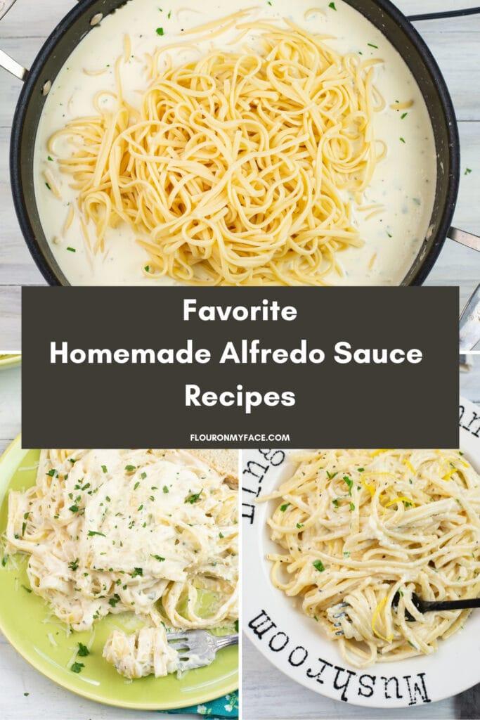 homemade alfredo sauce recipes