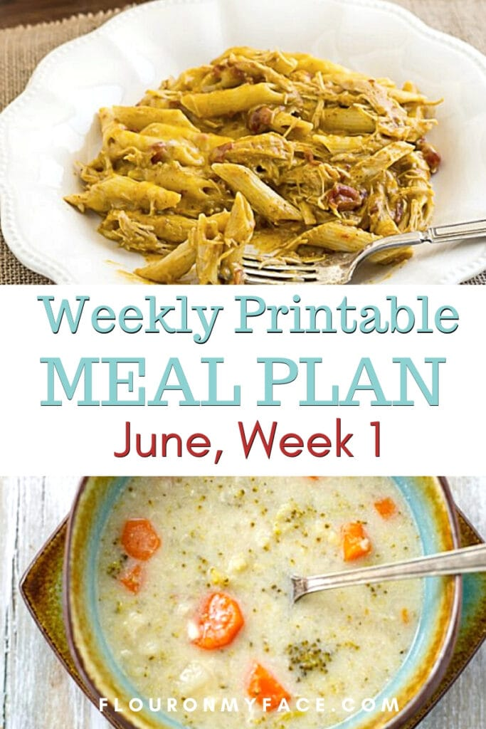 June Meal Plan Week 1 featured image