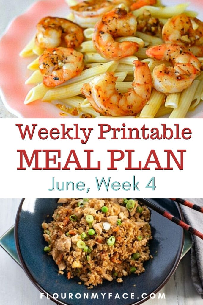 June Meal Plan Week 4 featured image