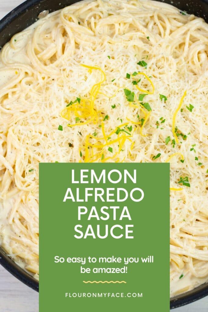 creamy lemon pasta sauce