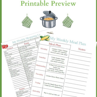 May Meal Plan Preview