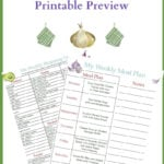 May Meal Plan 3 Printables