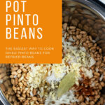featured image of Instant Pot Pinto Beans recipe