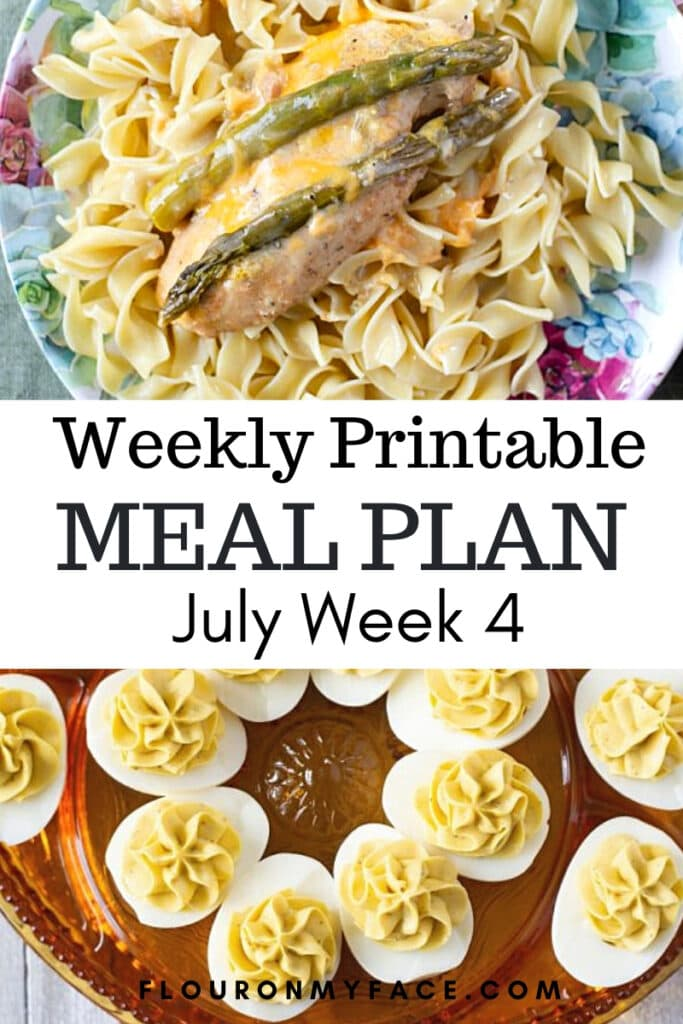July Meal Plan 4 Preview image