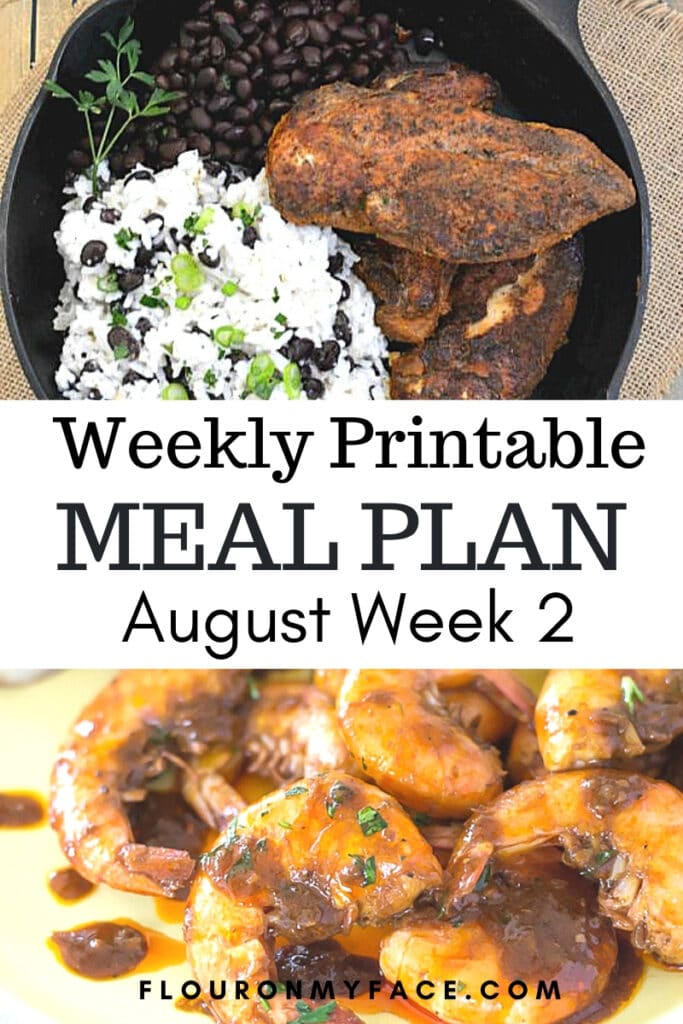 August Meal Plan Preview Image