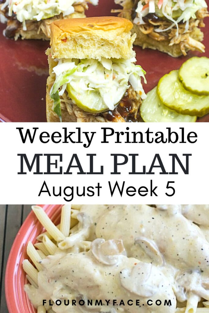 August Meal Plan Preview