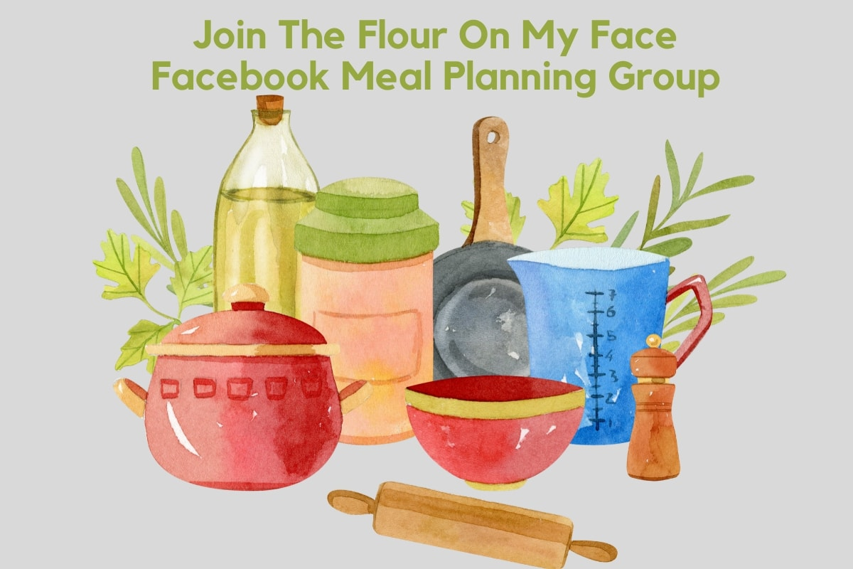 Flour On My Face Meal Planning Group Invite
