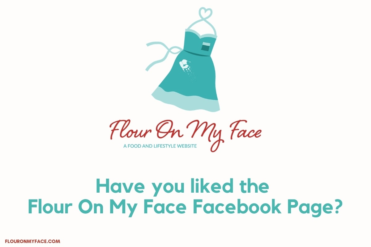 Flour On My Face Facebook Invite