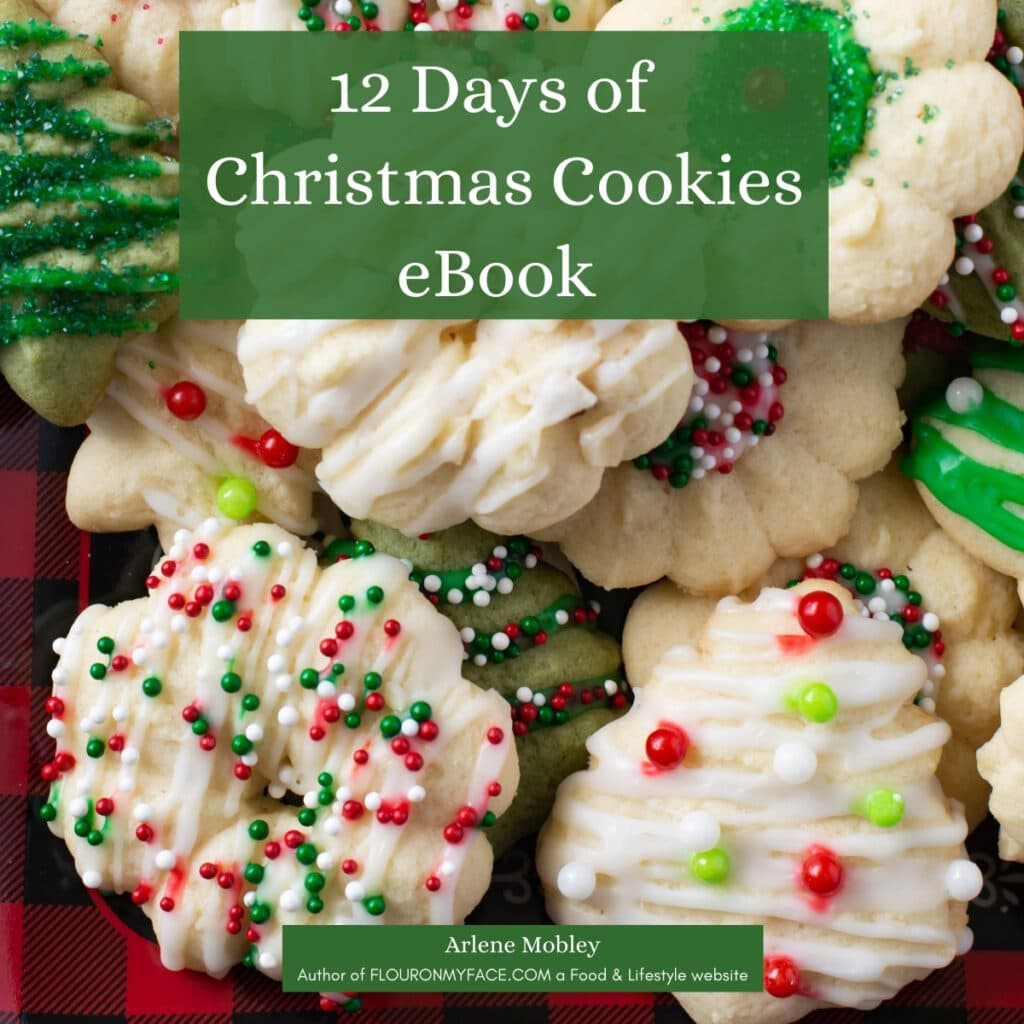 12 Days of Christmas Cookies eBook Cover Image