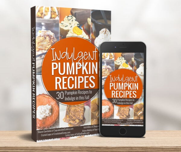 Preview image of the 30 Indulgent Pumpkin Recipes eBook cover