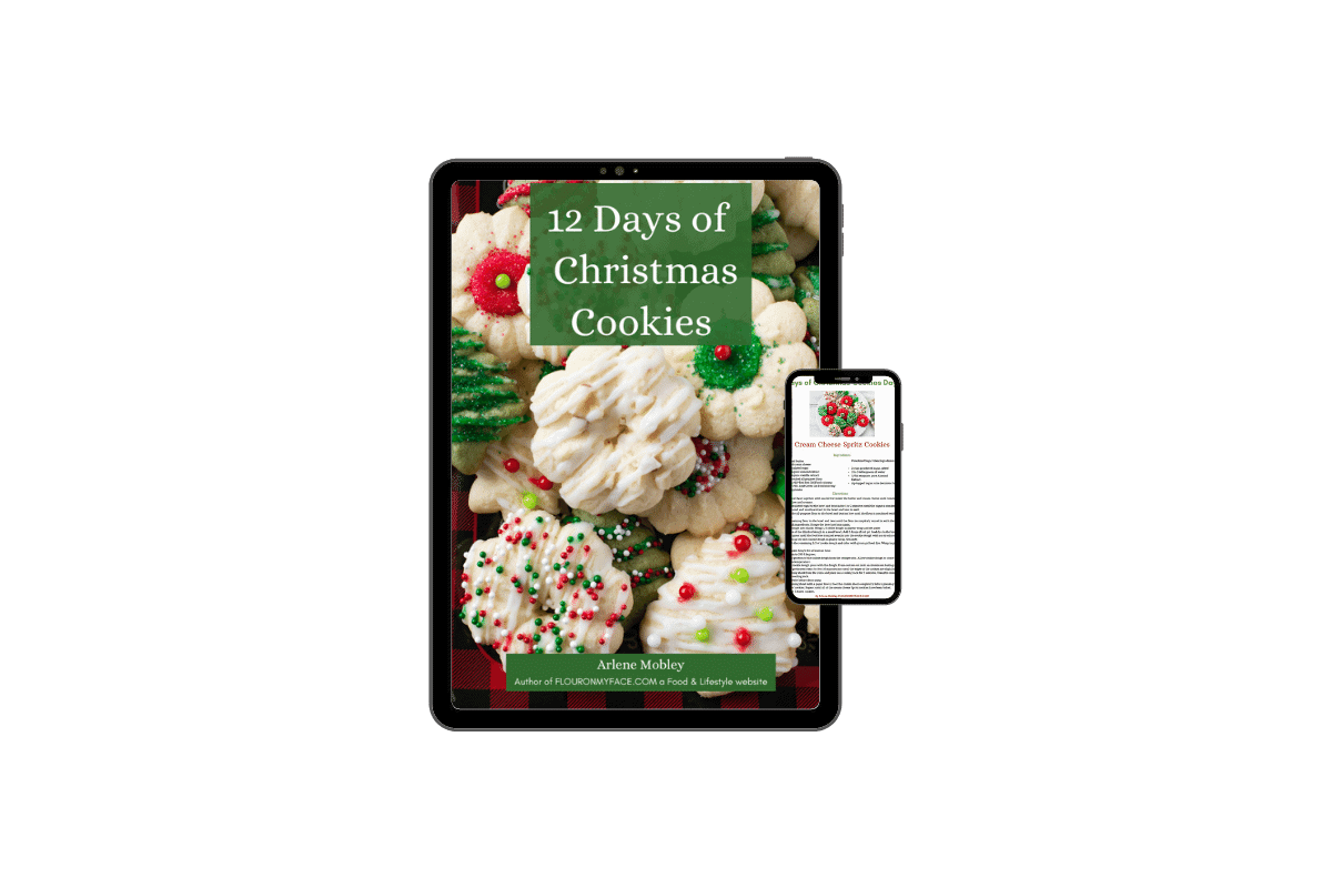 12 Days of Christmas Cookie Recipes Digital Preview image