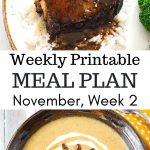 November Weekly Menu Plan 2 preview image