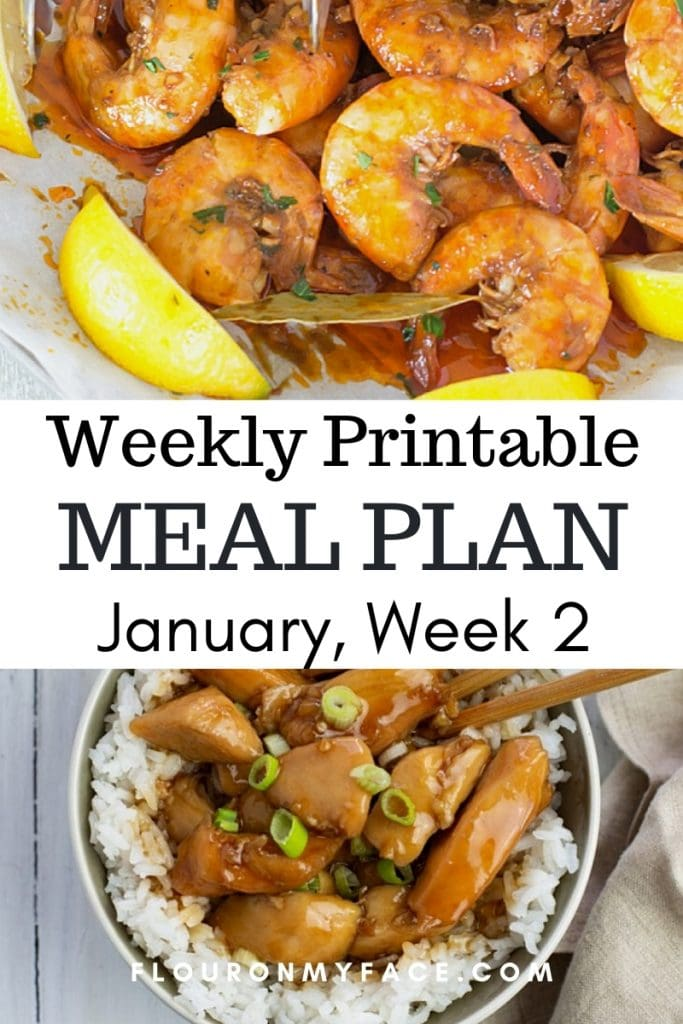 January Menu Plan Week 2 featured image