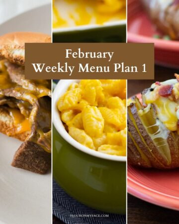 Preview of three meal plan recipes.