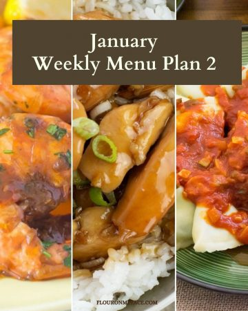 January Meal Plan recipe preview.