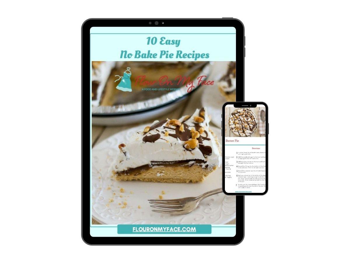 No Bake Pie Recipes eBook Cover