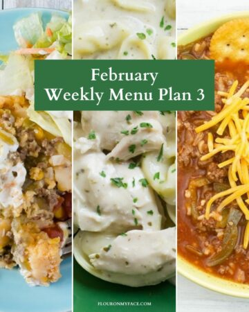 February Meal Plan 3 preview.